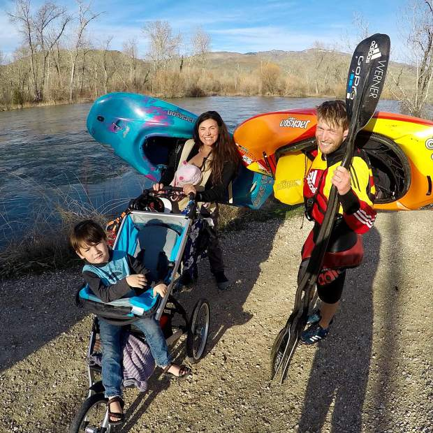 Rivers constantly change, which means Emily Jackson and her family are constantly on the move.