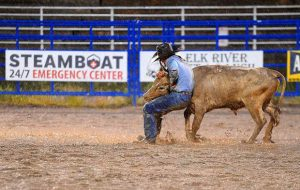 Rainy Steamboat rodeo a humbling experience for a Texan