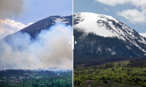 One year later, community leaders look back at the Buffalo Mountain Fire
