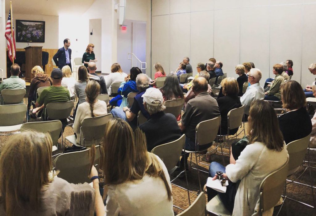 Rep. McCluskie, Attorney General Weiser host town hall in Frisco to review first months in office