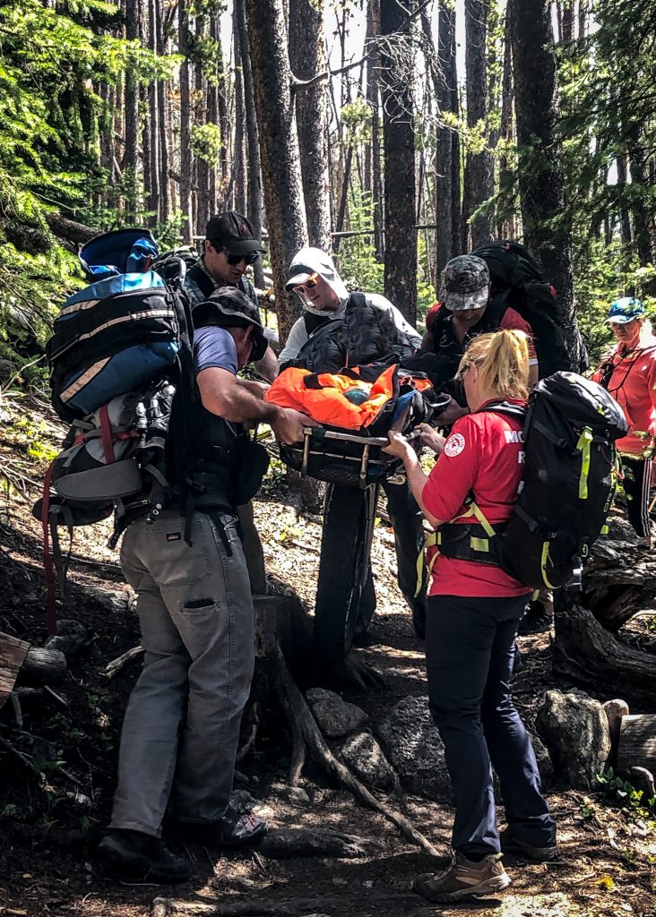 Summit Rescue Group evacuates injured hiker near Silverthorne