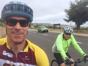 Olympic cyclist Scott Mercier tells the tale of a cross-country ride with dad
