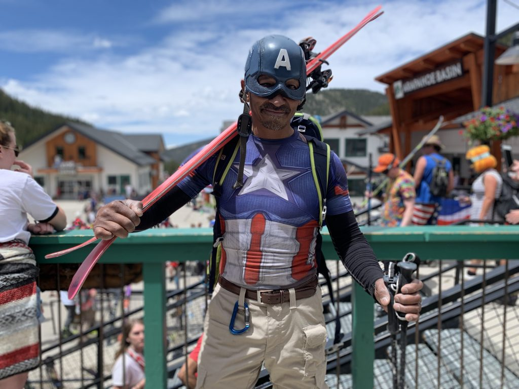 Captain America: Larry Paige, of Vail