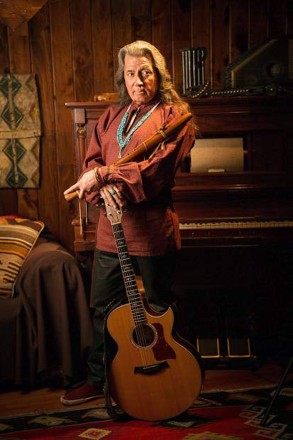 Leon Joseph Littlebird will perform at 6 p.m. on Wednesday, July 31, and Wednesday, Aug. 7, at the Edwin Carter Museum. Part of the festival's Tiny Porches series, the event blends music and storytelling as Littlebird focuses on the indigenous music of Colorado.