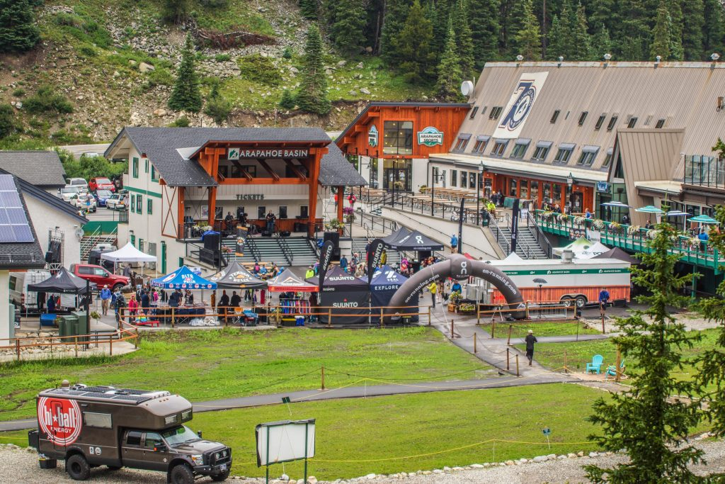 The apres-run area is seen at Arapahoe Basin Ski Area's Mountain Goat Plaza during last summer's Cirque Series mountain running event. The event will return for the third consecutive summer to A-Basin on Aug. 10.