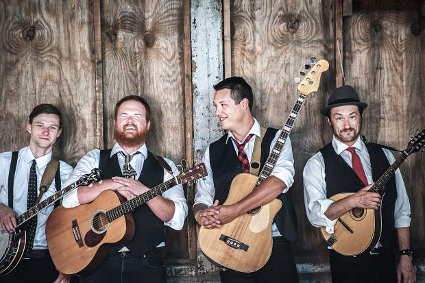 Holler-folk quartet The Ghost of Paul Revere performs for free at the Dillon Amphitheater, W. Lodgepole St., on Friday, July 26, at 7 p.m. Visit TownOfDillon.com for more information.