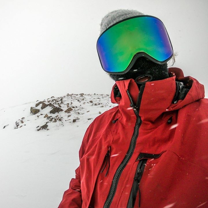 Chad Otterstrom took this selfie while riding in the high alpine of High Country Colorado.
