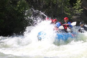 With Blue River flows near all-time highs, Summit Daily sports editor rides the wave train with KODI Rafting (video)