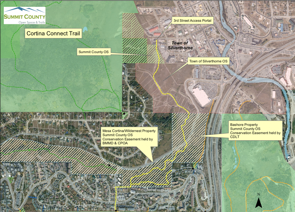 New trail to open between downtown Silverthorne and Wildernest, but with a catch