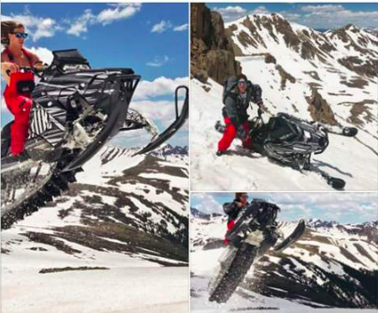 A Breckenridge resident is the alleged culprit of Independence Pass snowmobiling case; pictures posted to social media