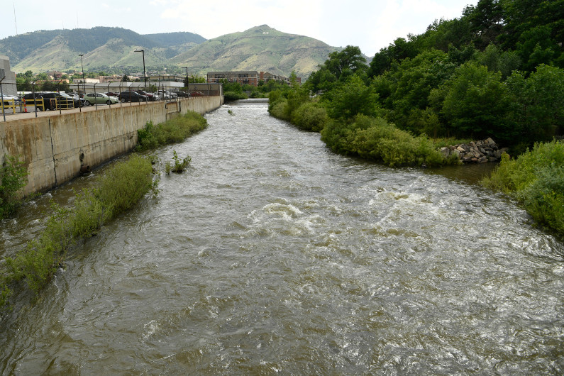 Whitewater tuber dies on re-opened Clear Creek west of Golden, 18th death or disappearance on Colorado waterways