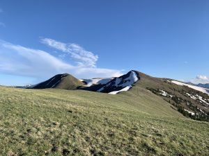 Summit County hiking: Ute Peak, Williams Fork Range