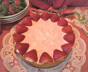 High Country Baking: Strawberry margarita freezer pie