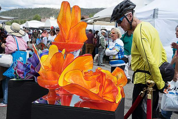 The Gathering at the Great Divide Art Festival is a chance to scope out photographs, jewelry, pottery and other forms of art between Saturday, Aug. 31, and Monday, Sept. 2.