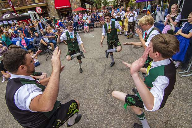 Keystone Oktoberfest attendees can expect stein hoisting, free live music from Those Austrian Guys polka band, the Das Bier Burner 5K and more.