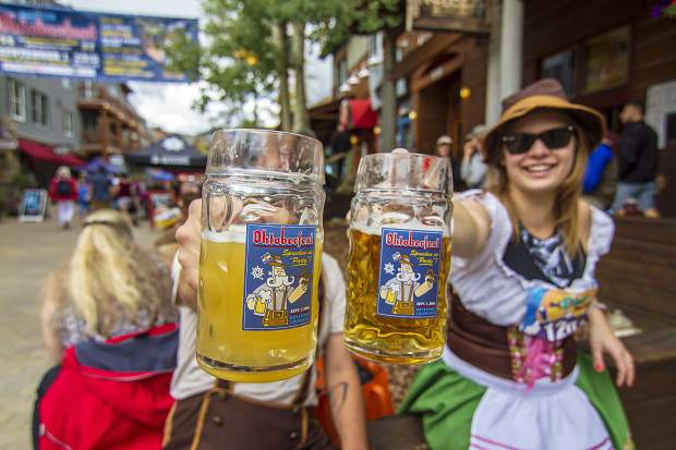 The first Oktoberfest of the season will be hosted Saturday, Aug. 31, in Keystone's River Run Village.