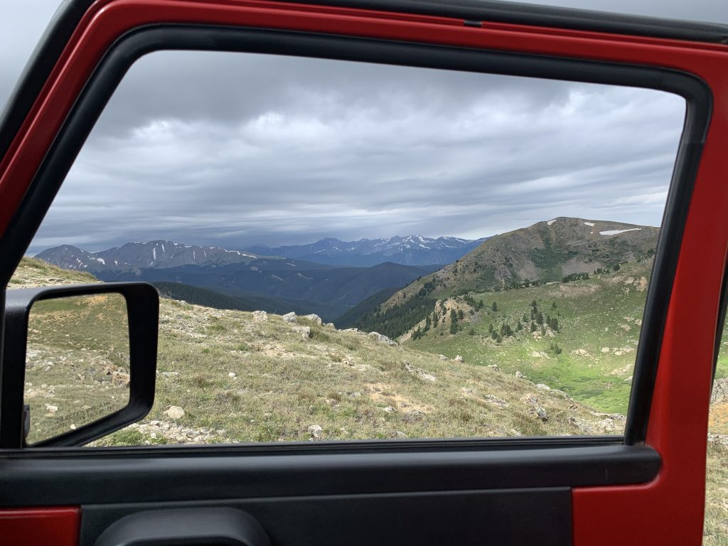 A look to the west while while riding the Saints John Jeep road on Aug. 10.