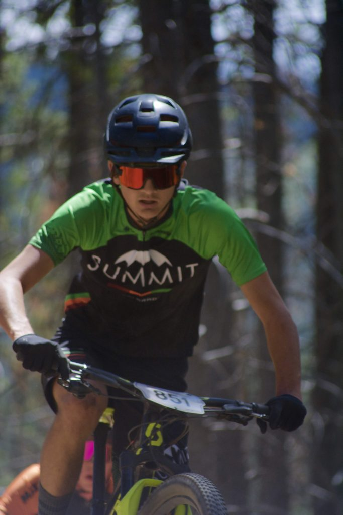 Finn Remias of Breckenridge races during last month's USA Cycling Mountain Bike National Championships in Winter Park.
