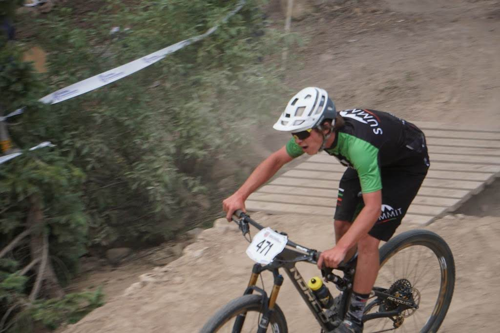 Timothy Lunney of Dillon races during last month's USA Cycling Mountain Bike National Championships in Winter Park.