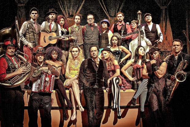 Vaud & the Villains — a large New Orleans-themed stage musical show based in Los Angeles — will perform for free at 7 p.m. Saturday, Aug. 24, at the Dillon Amphitheater, W. Lodgepole St. The act combines a 19-piece orchestra with cabaret. Visit TownOfDillon.com for more information.