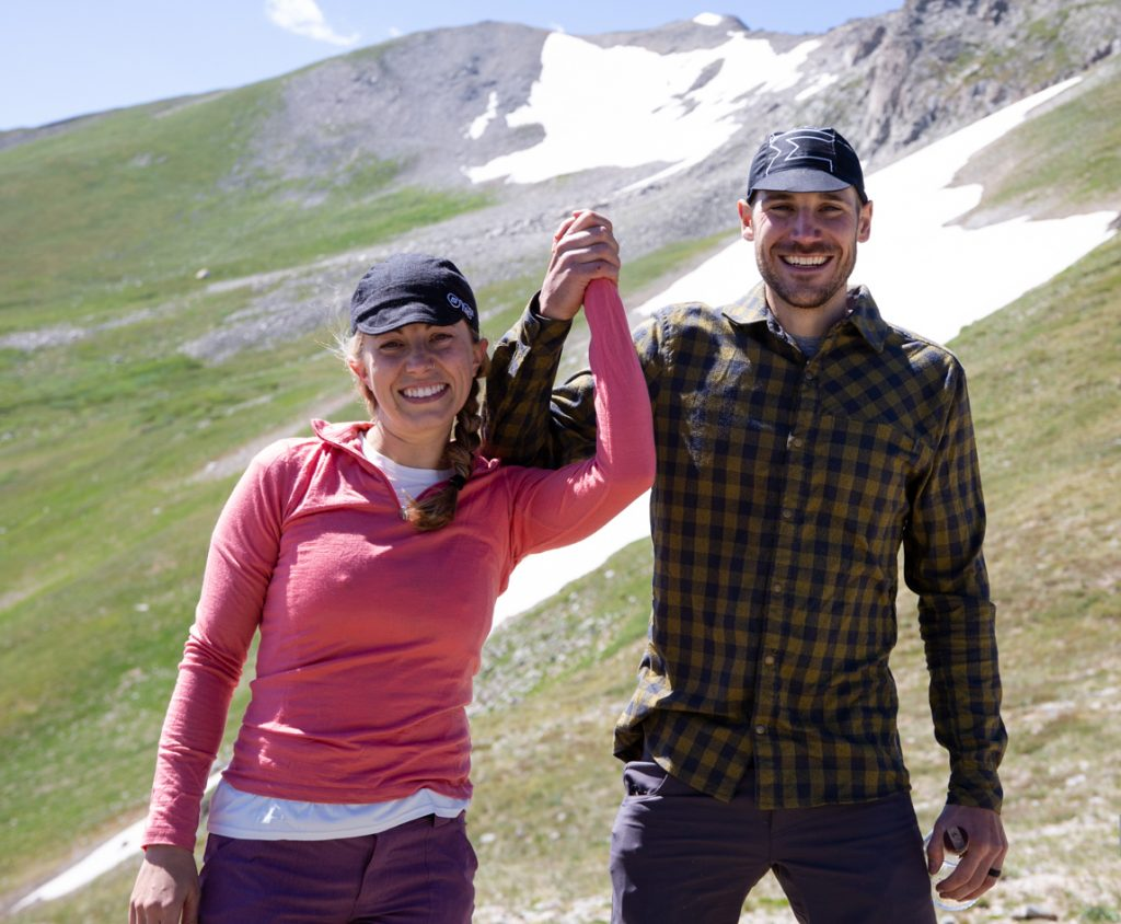 Breck Epic singlespeed riders and avid mountain bikers Scott Williams and Jessica Nelson were married at Wheeler Pass in between Peaks 8 and 9 in the Tenmile Range during Thursday's fifth stage of the six-day Breck Epic mountain bike race.