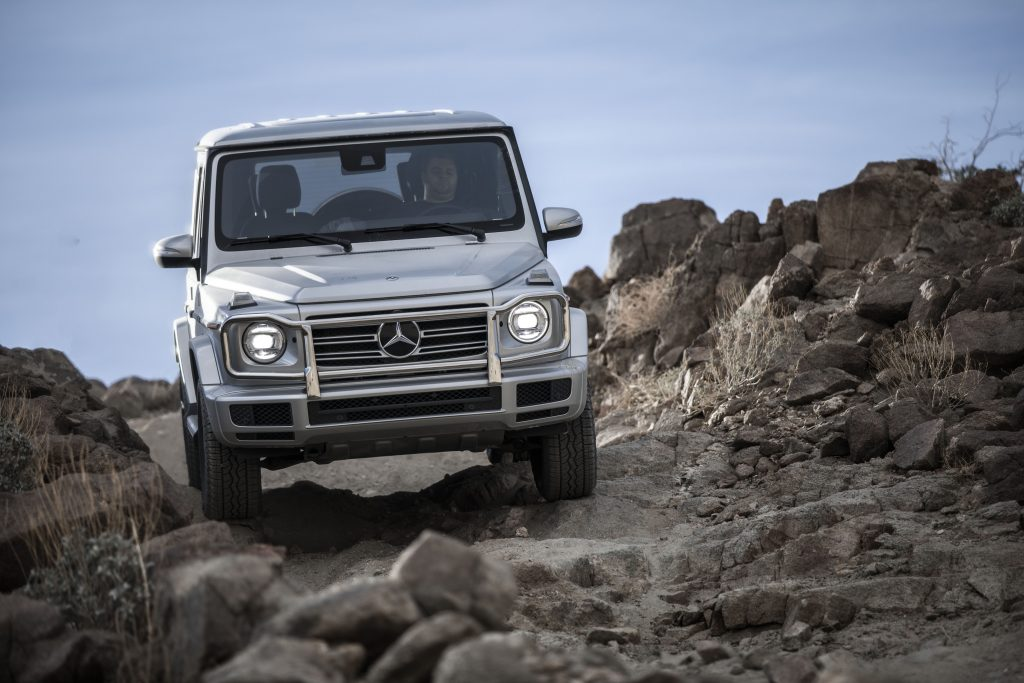 Mountain Wheels Mercedes Massive G Class Is The Suv They Couldn T Kill Summitdaily Com