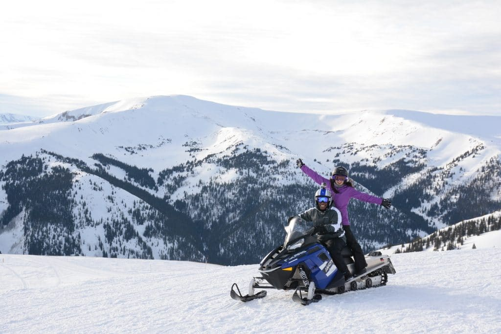 Start Your Engines Snowmobiling In And Around Summit County Summitdaily Com