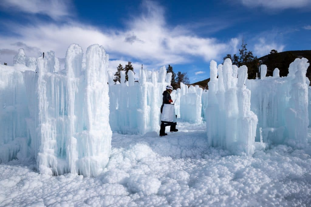 Dillon ice castles begin to take shape ahead of planned ...