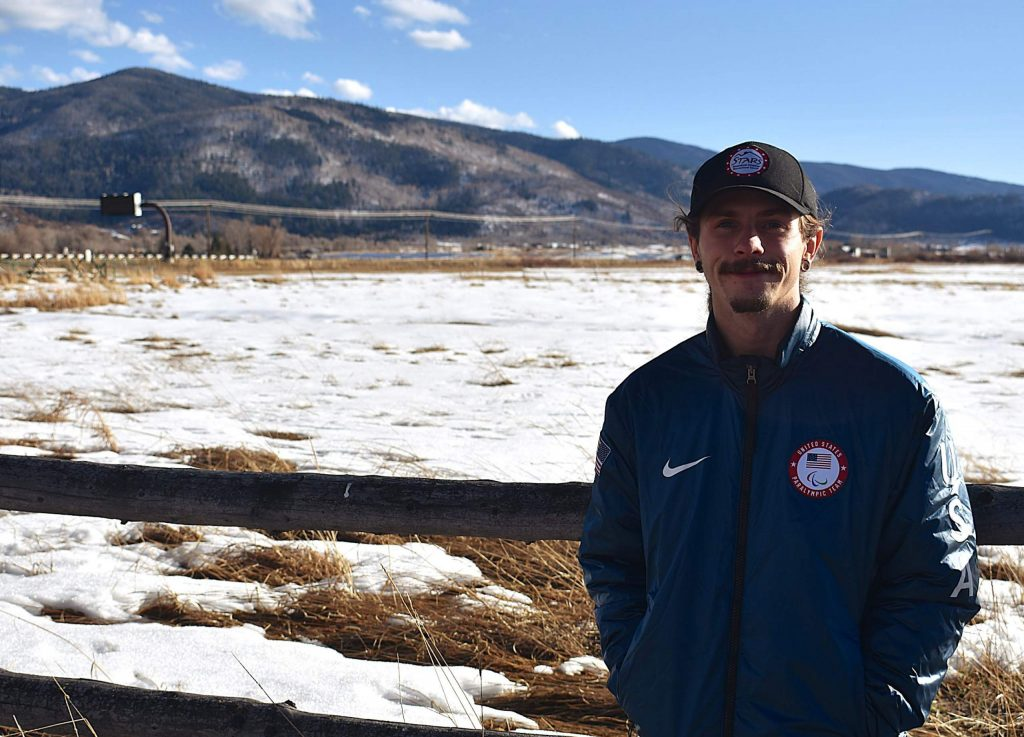 Noah Elliott takes in the view at the Steamboat Adaptive Recreational Sports ranch construction site. The Paralympic snowboarding gold medalist is the new program and outreach coordinator for STARS.