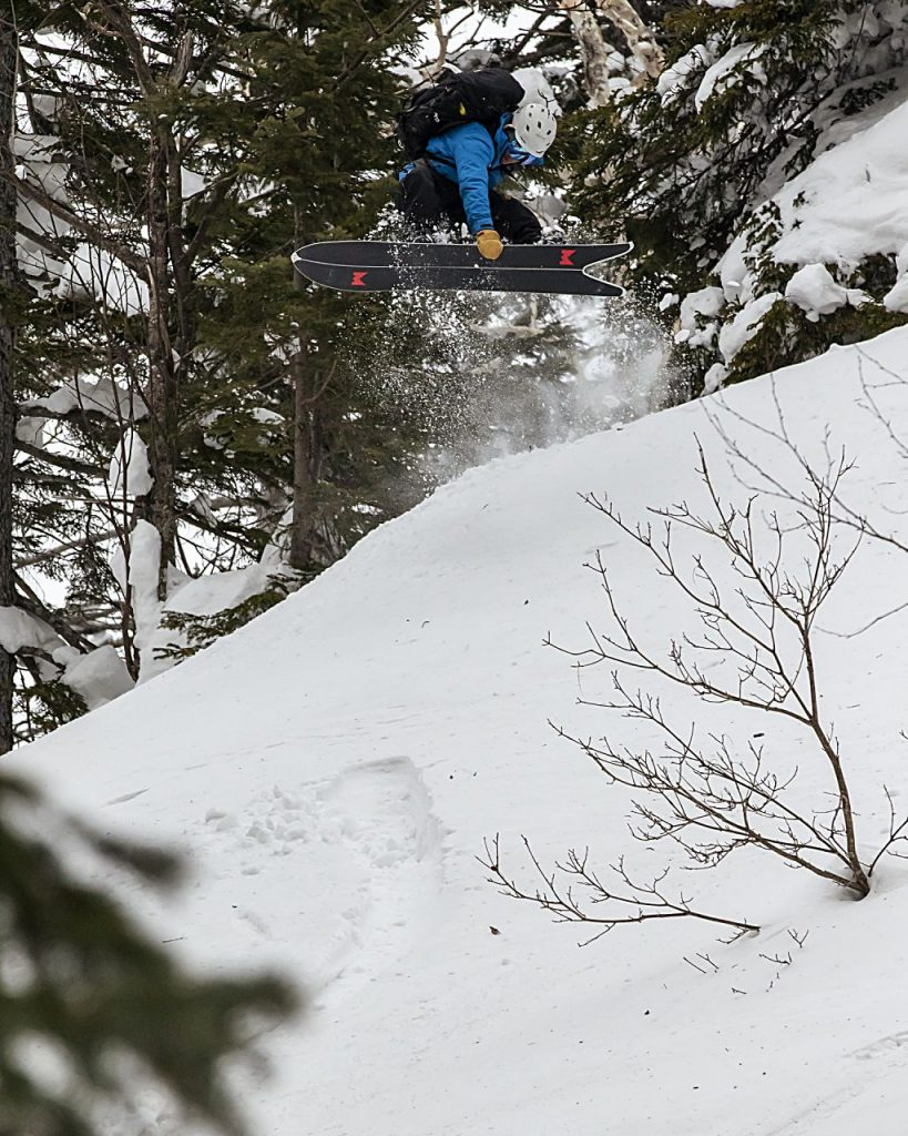 Weston Backcountry owner Leo Tsuo is an expert snowboarder himself and personally tests all of the company's boards. Tsuo says the company's focus on the environment and sustainability will mark their growth strategy moving forward.