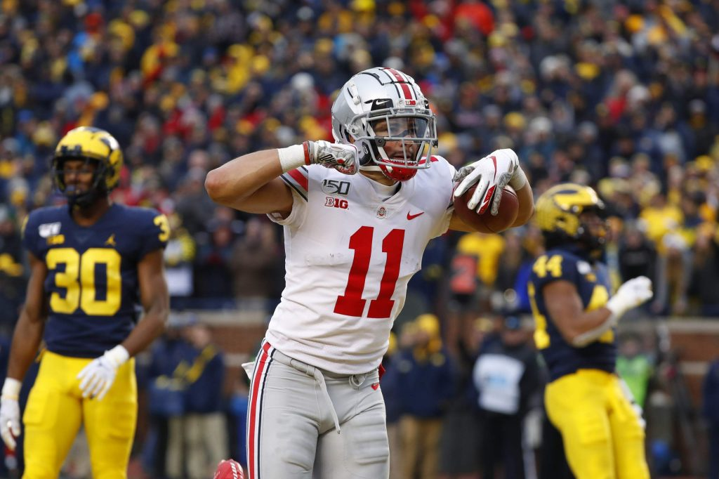 Ohio State enters the last week of the regular season as the No. 1-ranked team and plays Wisconsin in the Big 10 Championship on Saturday.