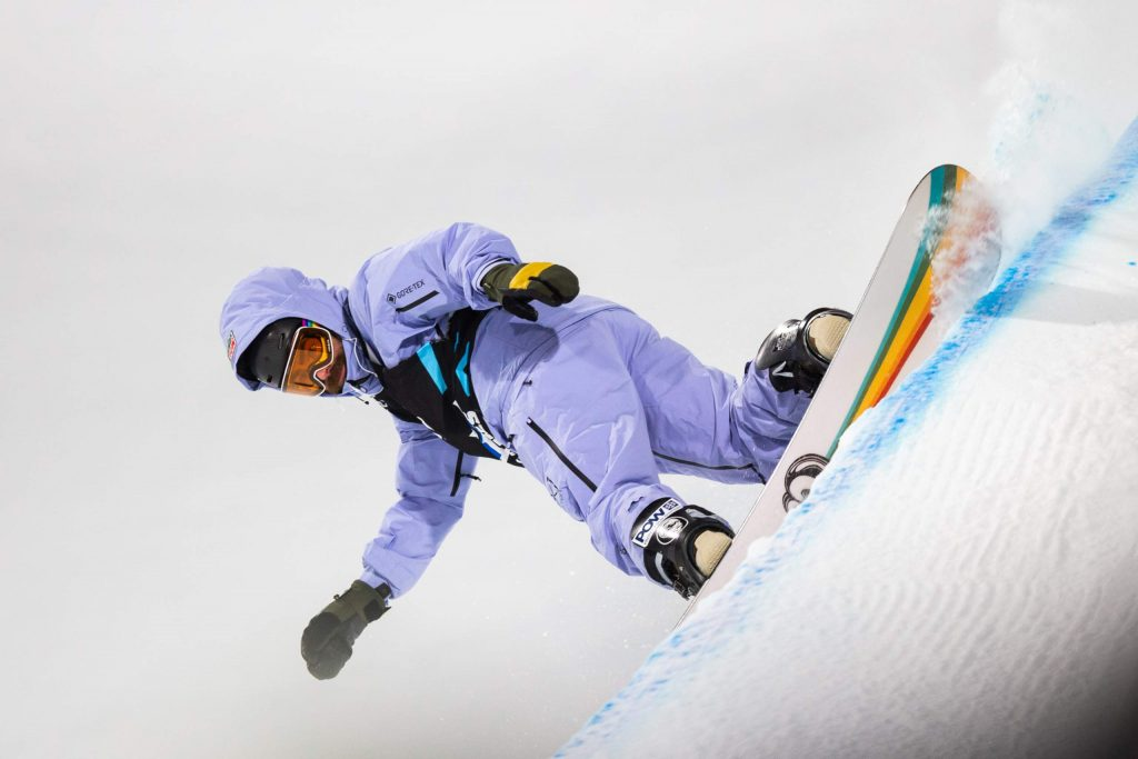 Danny Davis competes in the men's snowboard superpipe finals on Thursday, Jan. 23, 2020, at Buttermilk Ski Area in Aspen Snowmass, Colo.