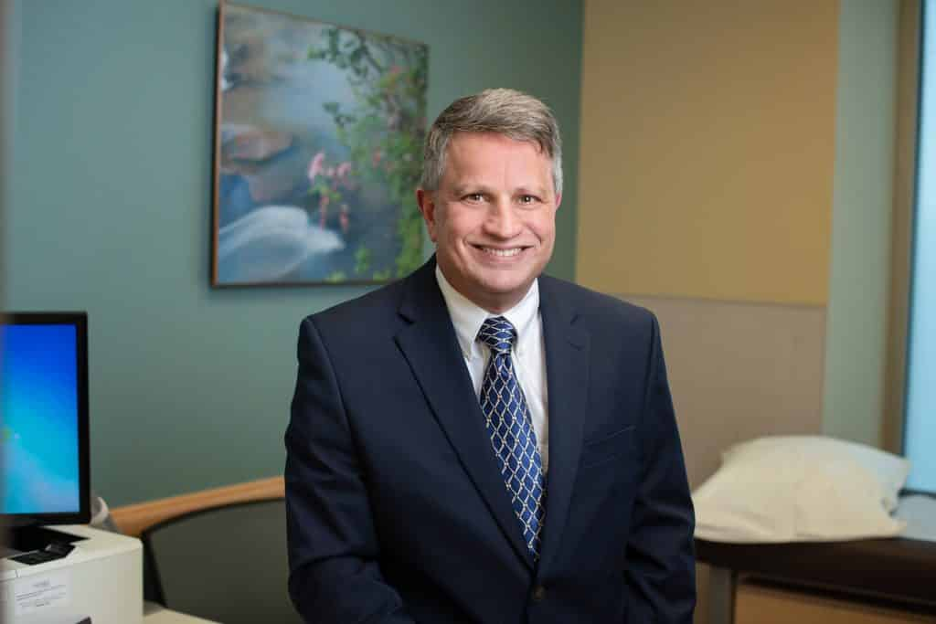Dr. Gary Benedetti, joint replacement and trauma specialist at Panorama Summit Orthopedics.