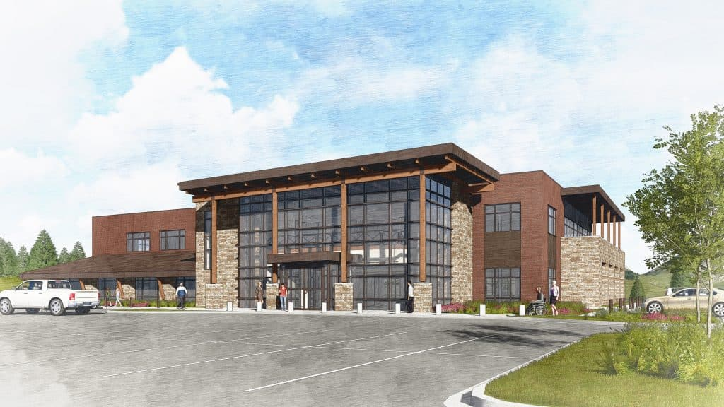 Panorama Summit Orthopedics new clinic, located at 68 School Rd. in Frisco, is expected to open in August.