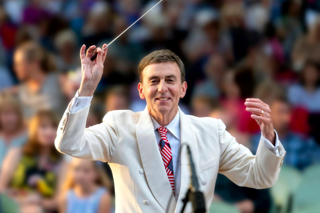 NRO Encore will celebrate honoree, Music Director, Carl Topilow Photo by Susan Bestul