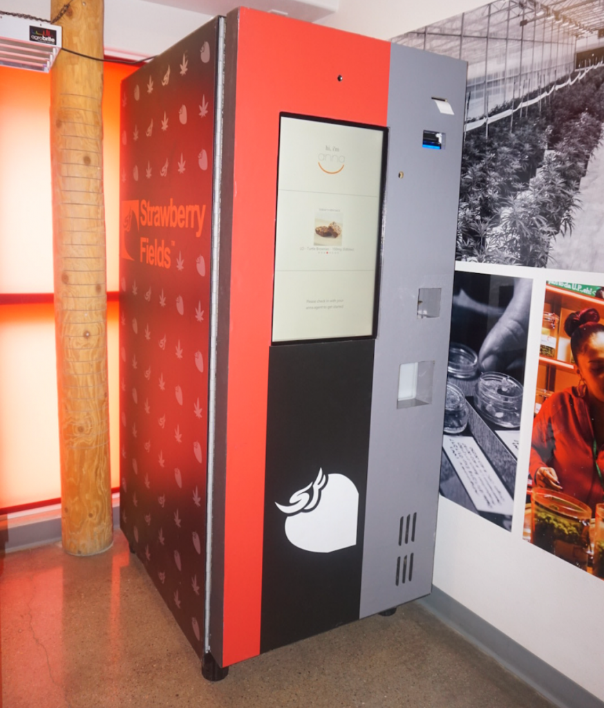 Weed vending machine debuts in Colorado with more on the ...