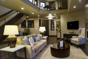 Myers said another way to softly incorporate some texture into a room is by using patterns or tone-on-tone colors.