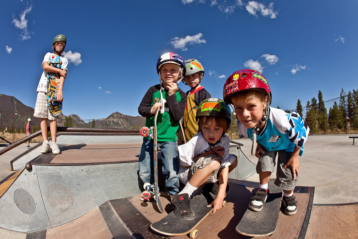 The Frisco Skate Park includes something for everyone, from beginners to advanced skaters. (Photo by Todd Powell, Courtesy of Town of Frisco)