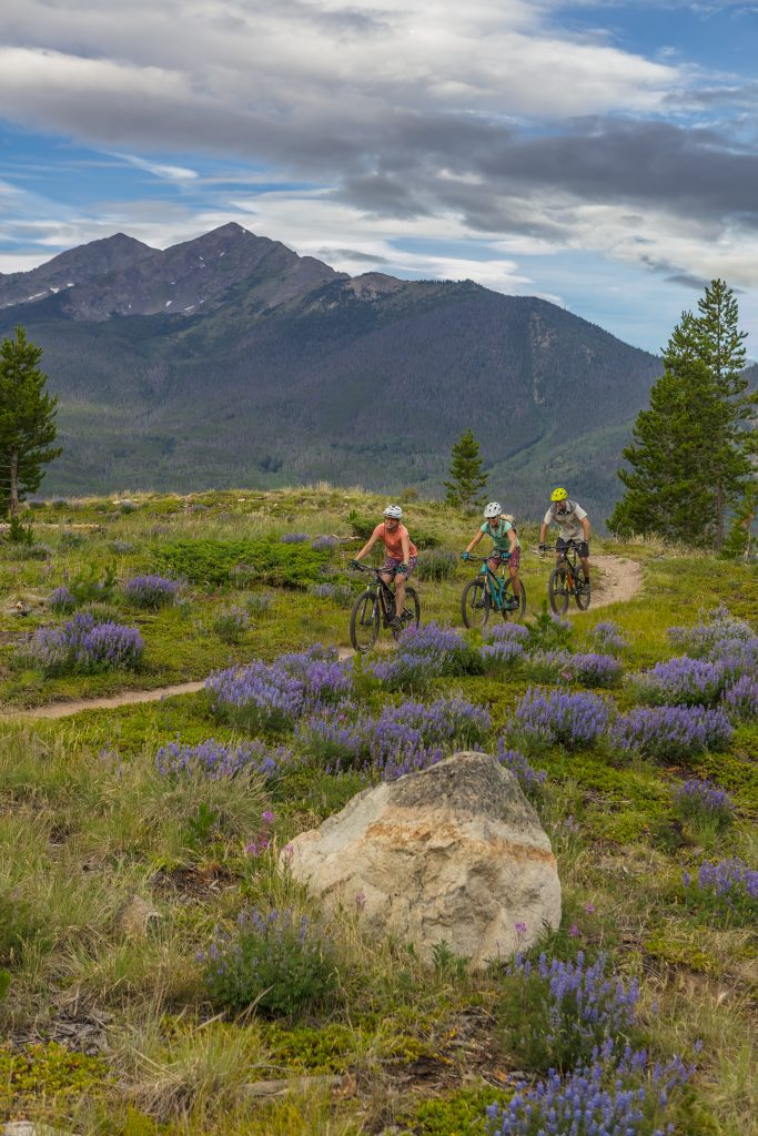 Frisco provides a network of hiking and biking trails for all ages and abilities. (Photo by Todd Powell, Courtesy of Town of Frisco)