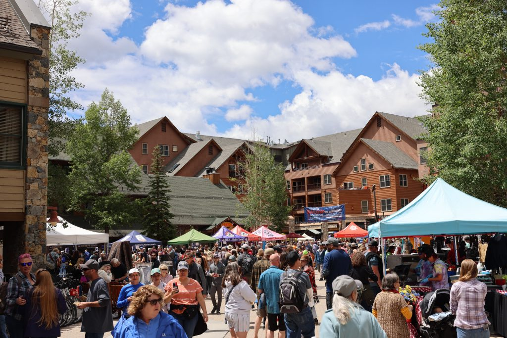 Residents at Kindred will enjoy Keystone's many festivals and events, like the popular annual Bacon and Bourbon Festival. (photo by Kyle Moorman, courtesy of LIV Sotheby's)